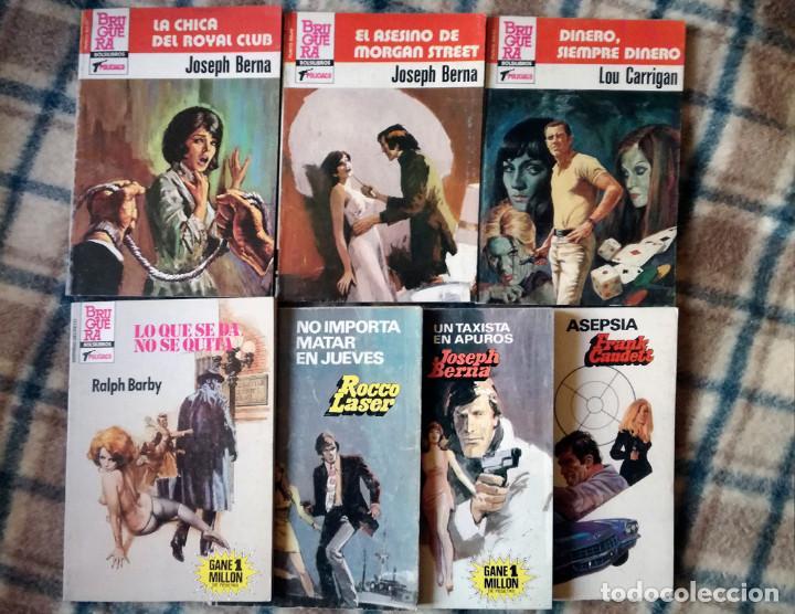 OESTE 10 NOVELAS ACCIÓN POLICIACO BARBY-LASER-BERNA-GARRIGAN-NUEVO AÑOS 80 (Libros de segunda mano (posteriores a 1936) - Literatura - Narrativa - Terror, Misterio y Policíaco)