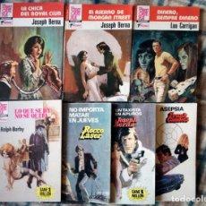 Libros de segunda mano: OESTE 10 NOVELAS ACCIÓN POLICIACO BARBY-LASER-BERNA-GARRIGAN-NUEVO AÑOS 80. Lote 120487896