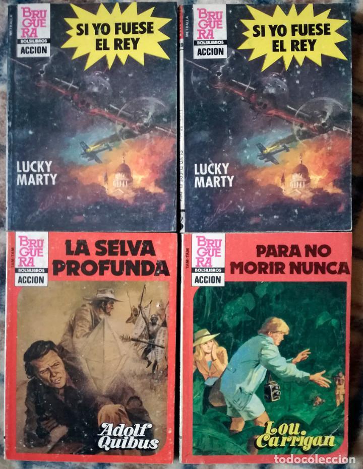 Libros de segunda mano: oeste 10 novelas acción policiaco Barby-Laser-Berna-Garrigan-nuevo años 80 - Foto 2 - 120487896