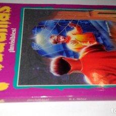 Libros de segunda mano: PESADILLAS-INVISIBLES-R.L STINE-EDICIONES B 1996. Lote 132897283