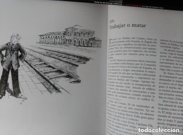 Libros de segunda mano: CRONICA NEGRA DE VALLADOLID - 24 CASOS REALES DE CRIMENES COMETIDOS EN LA CIUDAD Y PROVINCIA - Foto 4 - 116544075