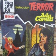 Livres d'occasion: SELECCION TERROR.LA MUERTE ANDA SOLA.Nº523.ADA CORETTI. Lote 117190987