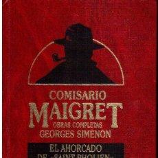 Libros de segunda mano: LIBROS A 1 €. GEORGES SIMENON. OBRAS COMPLETAS. COMISARIO MAIGRET. VOL. 4.. Lote 117523703