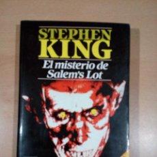 Libros de segunda mano: STEPHEN KING - EL MISTERIO DE SALEM'S LOT - PLAZA JANES 1 EDICION . Lote 117930755