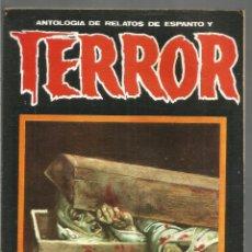 Libros de segunda mano: ANTOLOGIA DE RELATOS DE ESPANTO Y TERROR Nº16 DRONTE. Lote 118560955