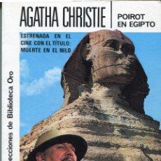 Libros de segunda mano: POIROT EN EGIPTO POR AGATHA CHRISTIE EDITORIAL MOLINO 146. Lote 119034243