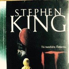 Libros de segunda mano: STEPHEN KING - IT ( ESO ). PRIMERA EDICION CON ESTA PORTADA 2016. Lote 119850243