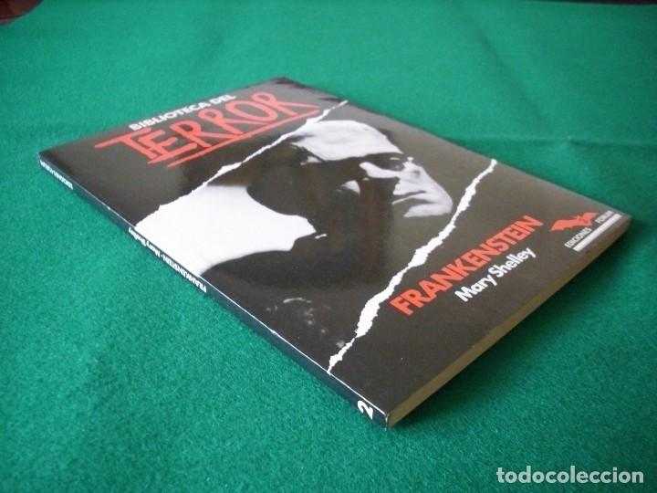 Libros de segunda mano: BIBLIOTECA DEL TERROR - FRANKENSTEIN - MARY SHELLEY - EDICIONES FORUM Nº 2 - AÑO 1983 - Foto 2 - 119865975