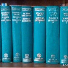 Libros de segunda mano: COLECCIÓN LINCE INQUIETO COMPLETA, 9 VOLÚMENES, AGUILAR. Lote 120100215