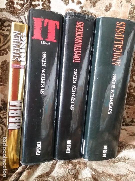 Libros de segunda mano: Lotazo Stephen King: It + Apocalipsis + Rabia + Tommyknockers - Foto 7 - 120635847