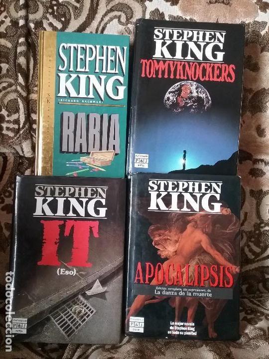 LOTAZO STEPHEN KING: IT + APOCALIPSIS + RABIA + TOMMYKNOCKERS (Libros de segunda mano (posteriores a 1936) - Literatura - Narrativa - Terror, Misterio y Policíaco)