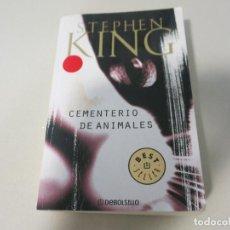 Libros de segunda mano: TERROR CEMENTERIO DE ANIMALES STEPHEN KING DEBOLSILLO. Lote 121167179