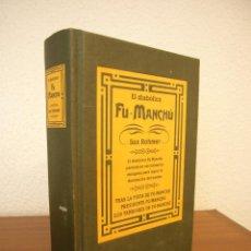 Libros de segunda mano: SAX ROHMER: EL DIABÓLICO FU-MANCHÚ (EDICIONES B, 2001) TAPA DURA. MUY RARO.. Lote 121524207