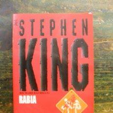 Libros de segunda mano: RABIA; STEPHEN KING; PLAZA & JANÉS, 1998 3A ED.; 9788401474682. Lote 121761831