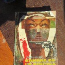 Libros de segunda mano: LIBRO SANGRE EN LA PISCINA AGATHA CHRISTIE 1959 MOLINO L-11029-362. Lote 122120355
