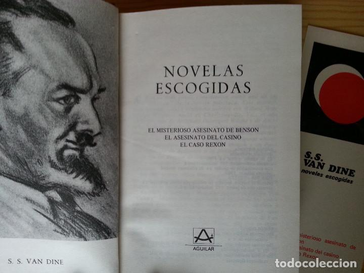 Libros de segunda mano: LOTE NOVELA POLICÍACA AGUILAR: CHRISTIE, DODGE, VAN DINE, PATRICK, SAYERS (CON 4 MARCAPÁGINAS). VER - Foto 6 - 122619527