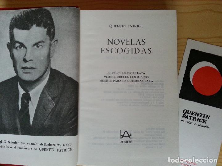 Libros de segunda mano: LOTE NOVELA POLICÍACA AGUILAR: CHRISTIE, DODGE, VAN DINE, PATRICK, SAYERS (CON 4 MARCAPÁGINAS). VER - Foto 7 - 122619527