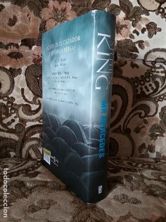 Libros de segunda mano: Mr Mercedes, de Stephen King 1a edición. Tapa dura y sobrecubierta. Plaza y Janes, nov 1994. - Foto 4 - 122983751