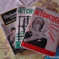 Libros de segunda mano: ALFRED HITCHCOCK EDITORIAL HYMSA Nº 11,12,16. Lote 124070275
