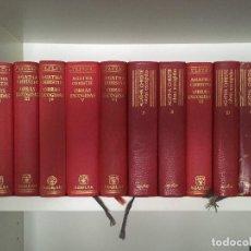 Libros de segunda mano: AGATHA CHRISTIE .OBRAS ESCOGIDAS TOMO I AL XII.AGUILAR COLECCION EL LINCE ASTUTO. Lote 124174447