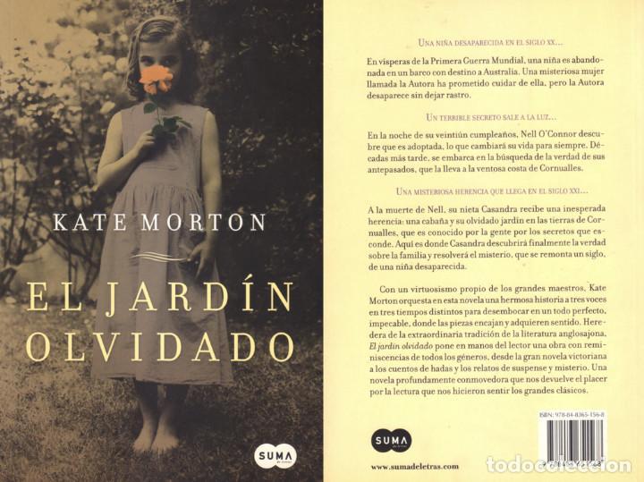 El Jardin Olvidado Kate Morton Comprar Libros De Terror