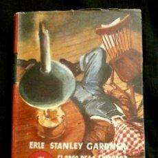 Libros de segunda mano: EL CASO DE LA LAMPARA HUMEANTE (1952) ERLE STANLEY GARDNER - COL. EL BUHO - CRIME CLUB - NOVELA. Lote 126796567