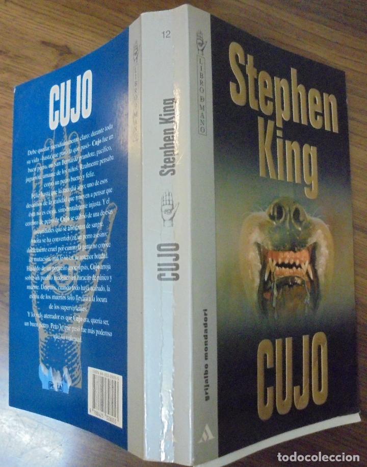 CUJO STEPHEN KING GRIJALBO MONDATORI SA 1995 (Libros de segunda mano (posteriores a 1936) - Literatura - Narrativa - Terror, Misterio y Policíaco)