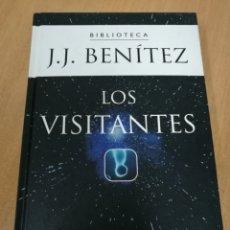 Libros de segunda mano: JUAN JOSÉ BENÍTEZ - LOS VISITANTES - PLANETA DE AGOSTINI 2002. Lote 127125450