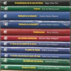 Libros de segunda mano: CLASICOS DEL TERROR RBA. 23 TOMOS DE LA COLECCION. TITULOS EN LAS FOTOS. Lote 128110419