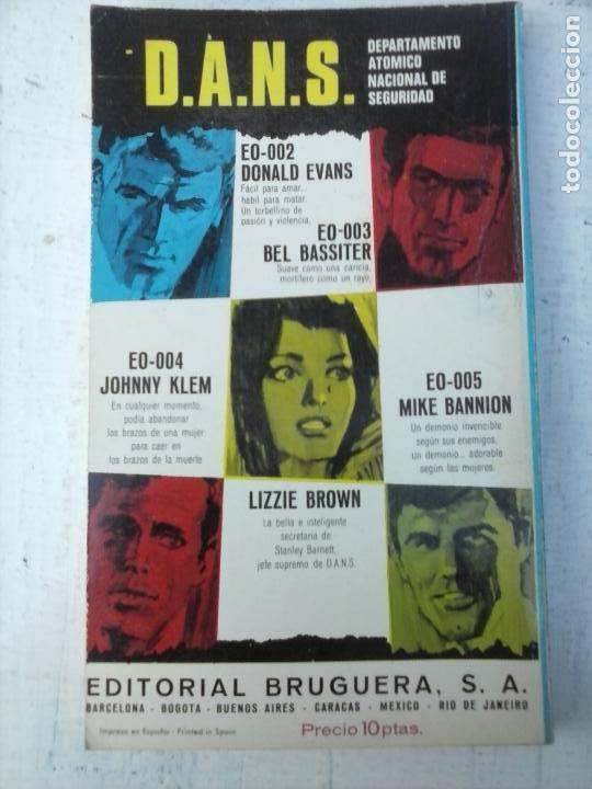 Libros de segunda mano: ENVIADO SECRETO Nº 92 - BURTON HARE - LOS HOMBRES DE LA VIOLENCIA - VER FOTOS - 1969 BRUGUERA - Foto 3 - 128183619