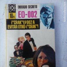 Libros de segunda mano: ENVIADO SECRETO Nº 105 - FRANK CAUDETT - ¡ CRAK !, Y OO2 A EVITAR OTRO: ¡ CRACK ! - VER FOTOS. Lote 128184955