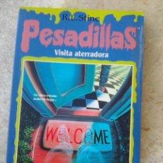 Libros de segunda mano: STINE, R. L. - PESADILLAS . VISITA ATERRADORA (EDICIONES B., 1996) . Lote 128861479