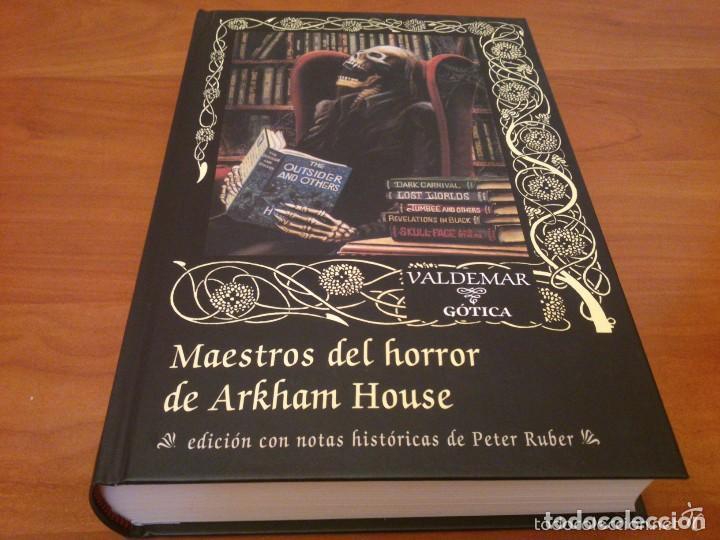 MAESTROS DEL HORROR DE ARKHAM HOUSE VALDEMAR GOTICA (Libros de segunda mano (posteriores a 1936) - Literatura - Narrativa - Terror, Misterio y Policíaco)