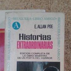 Libros de segunda mano: HISTORIAS EXTRAORDINARIAS EDGAR ALLAN POE. Lote 129497251