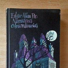 Libros de segunda mano: NARRACIONES EXTRAORDINARIAS - EDGAR ALLAN POE. Lote 129656951