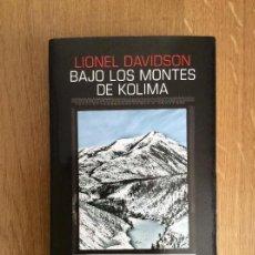 Libros de segunda mano: BAJO LOS MONTES DE KOLIMA LIONEL DAVIDSON SALAMANDRA BLACK. Lote 130605634