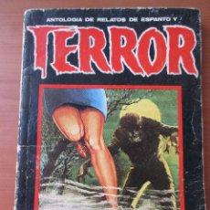 Libros de segunda mano: ANTOLOGÍA DE RELATOS DE ESPANTO Y TERROR 10 DRONTE 1972 . Lote 130939000