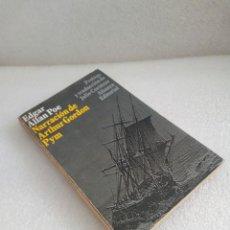 Livres d'occasion: NARRACIÓN DE ARTHUR GORDON PYM - EDGAR ALLAN POE - ALIANZA. Lote 131052264