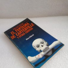 Libros de segunda mano: LIBRO EL FANTASMA DE CANTERVILLE Y OTROS CUENTOS OSCAR WILDE ALIANZA . Lote 131052420