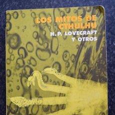 Libros de segunda mano: LOS MITOS DE CTHULHU, H. P. LOVECRAFT - EDICIÓN DE RAFAEL LLOPIS - ALIANZA-FANTASÍA Y TERROR, 1999. Lote 132765298