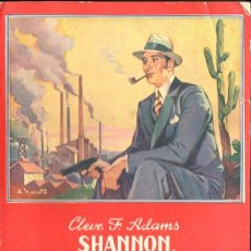 Libros de segunda mano: CLEVE ADAMS : SHANNON DETECTIVA PARTICULAR (LA PALMA MAUCCI, S.F.). Lote 132867170