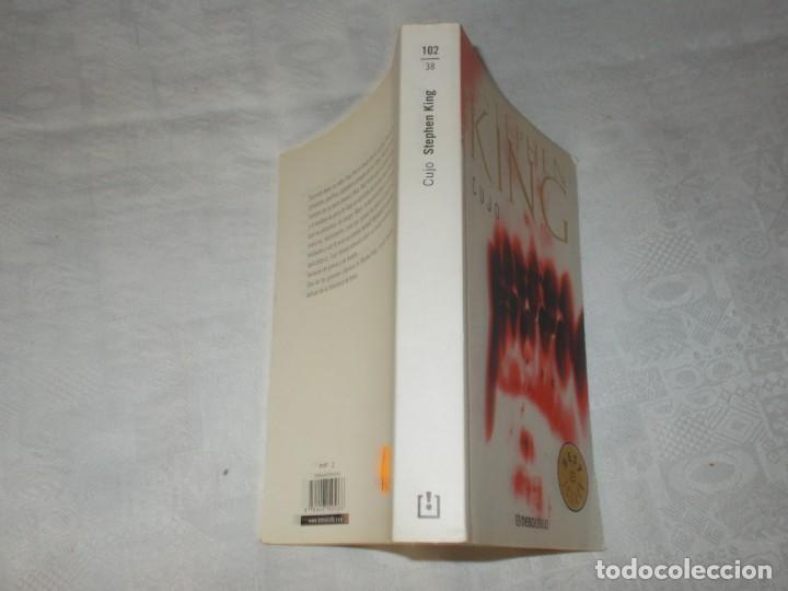 Libros de segunda mano: STEPHEN KING Cujo - Foto 2 - 132881282
