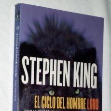 Libros de segunda mano: STEPHEN KING - EL CICLO DEL HOMBRE LOBO EDICIÓN BOOKET. Lote 133023110