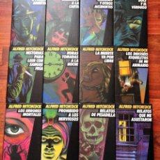 Libros de segunda mano: ALFRED HITCHCOCK - COLECCIÓN COMPLETA 12 TOMOS - CÍRCULO DE LECTORES. Lote 133176622