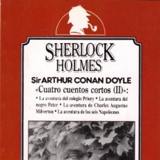 Libros de segunda mano: TRES OBRAS DE SHERLOCK HOLMES / ARTHUR CONAN DOYLE (EDICIÓN PARA CAMBIO16). Lote 133902166