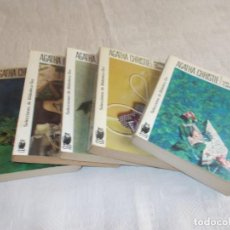 Libros de segunda mano: AGATHA CHRISTIE 5 LIBROS. Lote 133908842