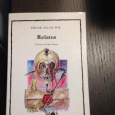 Libros de segunda mano: RELATOS EDGAR ALLAN POE CATEDRA Nº99 NUEVO. Lote 134093670