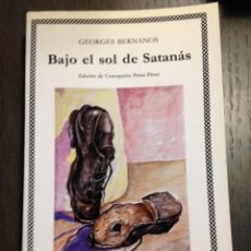 Libros de segunda mano: BAJO EL SOL DE SATANAS GEORGES BERNANOS CÁTEDRA Nº142 NUEVO. Lote 134095910