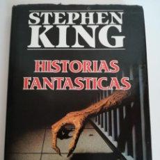 Libros de segunda mano: HISTORIAS FANTÁSTICAS STEPHEN KING ED. PLAZA Y JANES - TAPA DURA Y SOBRECUBIERTA 1ª EDICIÓN. Lote 134300273