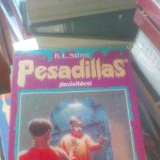 Libros de segunda mano: PESADILLAS-INVISIBLES-R.L STINE-EDICIONES B 1996. Lote 134358374